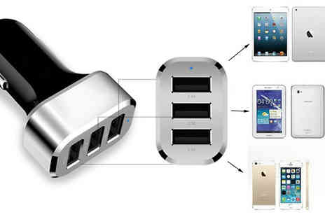 We can make it - 3 in 1 Car USB Charger - Save 73%