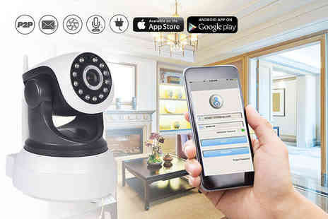 Mobi Trends - HD home security camera with motion detection system - Save 78%