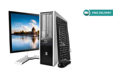 Computers Reborn - 4GB RAM 320GB HP DC7900 desktop PC or 8GB RAM 320GB model or 4GB RAM 1TB model or 8GB RAM 1TB model Plus Deliveri Included - Save 70%