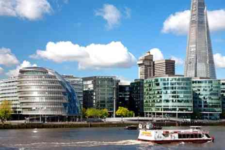 City Cruises PLC - Two Course Thames Lunch Cruise - Save 41%