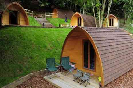 Mountain Edge Shropshire - Two Night Camping Pod Stay for Two with Option for Steak Meal - Save 0%