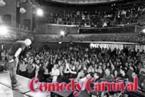 Comedy Carnival - Entry to live comedy and a choice of drinks for two - Save 71%