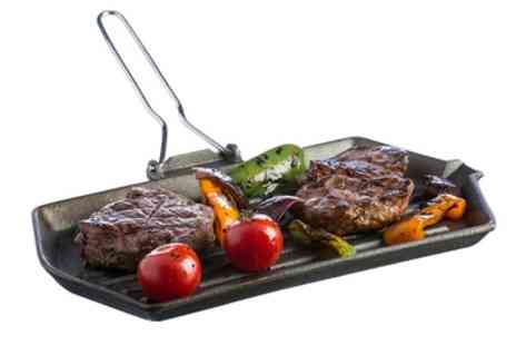 Groupon Goods Global GmbH - 34cm Typhoon Cast Iron Char Griller - Save 63%