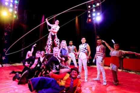 Planet Circus - Ticket to Planet Circus on 12 to 17 September - Save 0%
