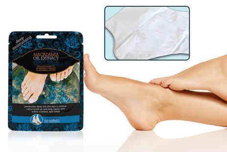 Fair Retail Adventures - Macadamia oil foot mask - Save 82%