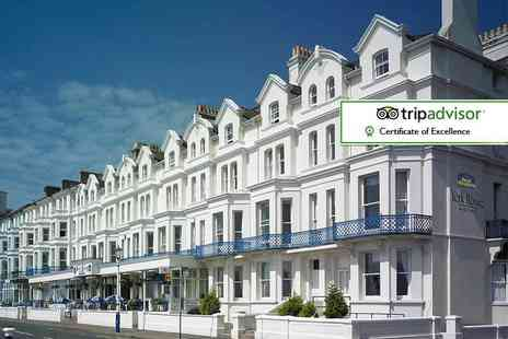 Best Western York House Hotel - Eastbourne escape for two with dinner, breakfast and late check out - Save 39%