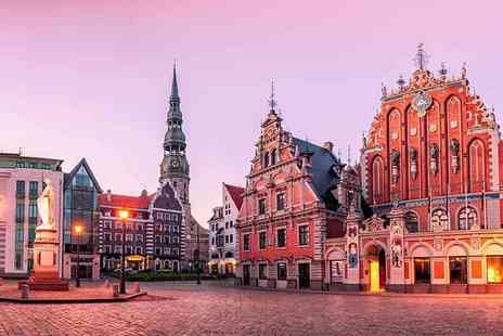 Cheap Cost Holidays - Two, Three or Four night 4 Star Riga break including breakfast and flights - Save 39%