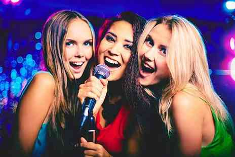 Intrigue Karaoke Bar and Lounge - Private karaoke room hire for up to five with a sharing platter and drinks - Save 0%