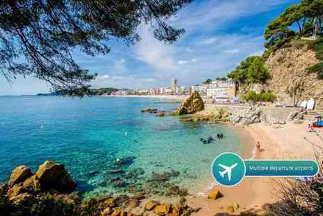 Crystal Travel - Three or Five night all inclusive Costa Brava break with flights - Save 36%