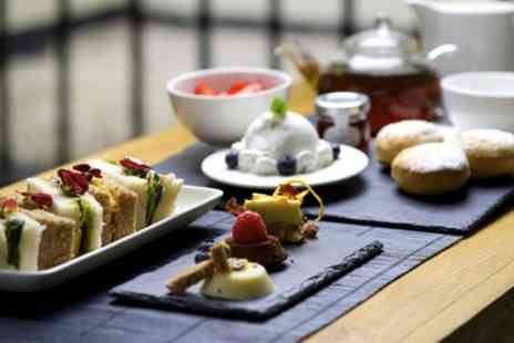 La Suite West - Vegan Afternoon Tea, Non Alcoholic Fizz for Two or Four - Save 34%