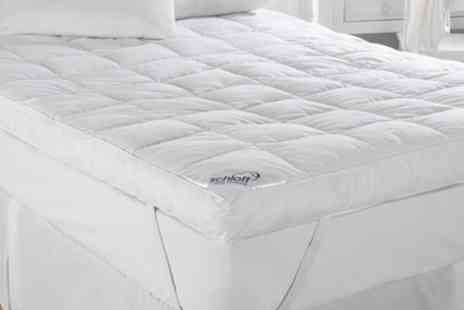 Groupon Goods Global GmbH -  Extra Deep 13cm Mattress Toppers in Choice of Size With Free Delivery - Save 25%