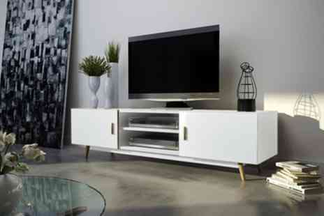 Groupon Goods Global GmbH - Rivano II TV Cabinet with Free Delivery - Save 47%