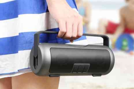 Groupon Goods Global GmbH - Kocaso Portable Wireless Bluetooth Grip Speaker - Save 34%