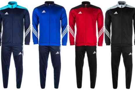 Groupon Goods Global GmbH - Adidas Mens Sereno 14 Tracksuit in Choice of Colour - Save 45%