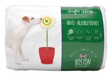 Groupon Goods Global GmbH - Boston Anti Allergy 10.5 Tog Duvet - Save 0%