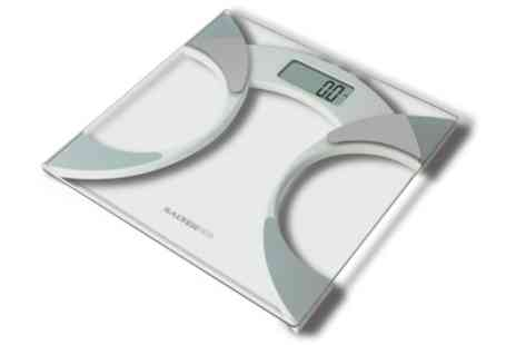 Groupon Goods Global GmbH - Salter Glass Analyser Bathroom Scale - Save 32%