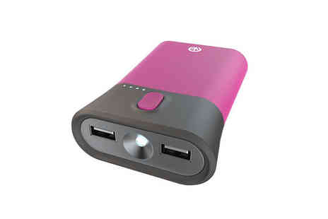 Ckent - iFrogz portable powerbank charger & flashlight in blue, green and pink - Save 67%