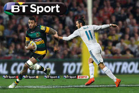 Digital Window - 12 months of half price BT Sport or per month with three months of HD Sky TV and activation - Save 0%