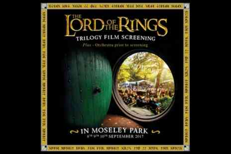 Lord Of The Rings Trilogy Film Screening - Ticket to The Lord of the Rings Trilogy Screenings on 8 to 10 September - Save 40%