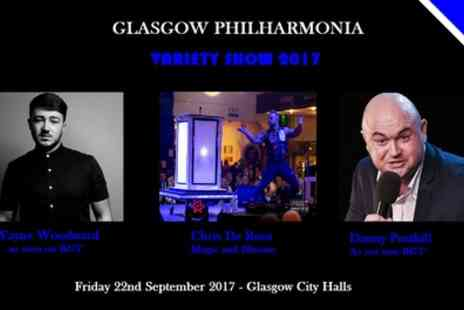 Glasgow Philharmonia Does Variety - One ticket to Glasgow Philharmonia on 22 September - Save 25%