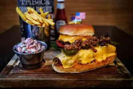 TriBeCa - Burger or Hot Dog with Fries for Two - Save 44%