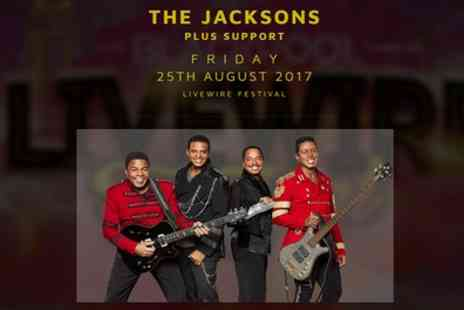 Livewire Festival - One general admission, golden circle or VIP ticket for Livewire Festival to see The Jacksons on 25 August - Save 43%