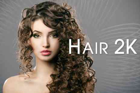 Hair 2K - Haircut, Wash and Blow Dry Plus Conditioning Treatment - Save 63%