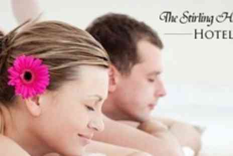 Stirling Highland Hotel - Spa Day With Two Treatments, Cream Tea, Sparkling Wine, and Use of Facilities For Two - Save 61%