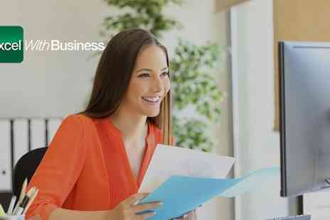 Excel with Business - One or Ten User Licence to Online Microsoft Office Course Bundle - Save 84%