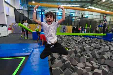 Jump In - Fully Catered Trampoline Party for Ten Kids - Save 0%
