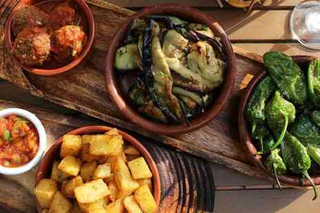 The Cuban - Three Course Meal with Mojitos for Two - Save 52%