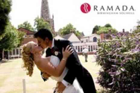 Ramada Birmingham Solihull - Wedding Package For 50 Guests With Three Course Meal and Room Hire - Save 50%