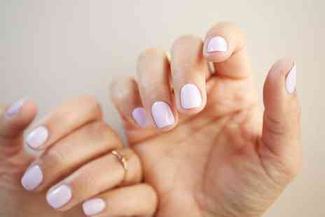 The Pamper Rooms - Gel Polish on Hands or Feet or Both - Save 33%