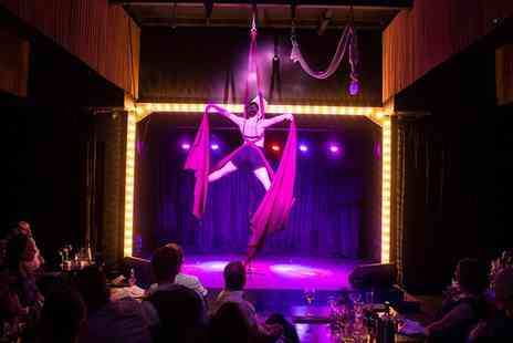 Wild Cabaret - Afternoon Tea with Glass of Fizz and Show Entry for Two or Four - Save 0%