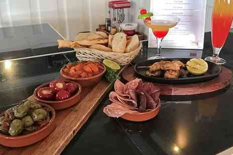 The Great Tides - Two Course Tapas Meal with Cocktail for One, Two or Four - Save 0%