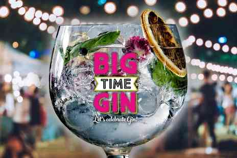 Big Time Gin Festival - Ticket for 22 to 23 September - Save 0%