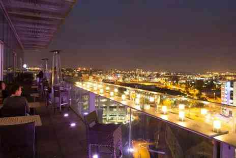 Sky Lounge - Choice of Cocktails and Nibbles for Up to Eight - Save 34%