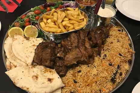 Mumtaz - Choice of Traditional Lamb Delicacies for Two or Whole Leg of Lamb with Sides for Up to Six - Save 39%