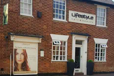 Lifestyle Hair - Cut and Finish with Shiatsu Head Massage or with Olaplex Treatment plus Optional Tint - Save 0%