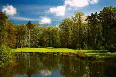 Linden Hall Hotel - Round of Championship Golf and Food - Save 0%