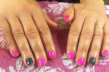 Nailed - Gel Manicure with Optional Additional Art, Glitter or Chrome Effects - Save 0%