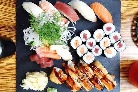 Koishii Japanese Restaurant - Sushi Platter and Miso Soup for Two or Four - Save 0%