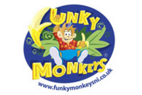 Funky Monkeys - 6 Weeks Unlimited Play - Save 57%