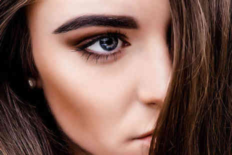 Ginas Beauty - Semi permanent eyebrow microblading treatment - Save 75%