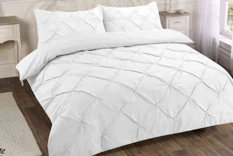 Omeco - Single Pintuck Duvet Set - Save 0%