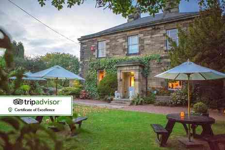 Horton Grange Hotel - Overnight stay for two people with cream tea and breakfast - Save 36%