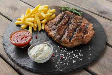 Himley Country Hotel - Two course steak dining for two with a drink each - Save 47%