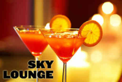Sky Lounge - Four cocktails and gourmet canapes to share between 2 - Save 76%
