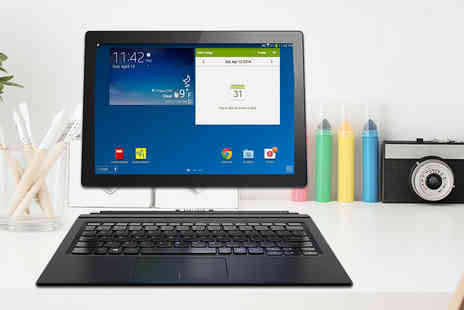 J & Y - 10.0 Inch 32GB Android 2 in 1 laptop and tablet - Save 56%