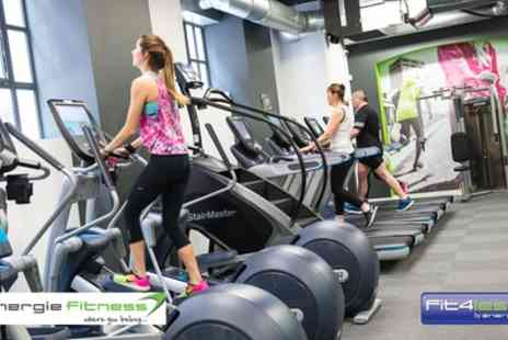 Energie Fitness - 10 One Day Gym Passes to energie Fitness or Fit4less - Save 0%